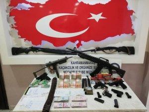 Kahramanmaraş'ta organize suç örgütüne şafak operasyonu: 7 gözaltı