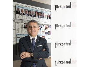"""TÜRKONFED Başkanı Turan: """"Katılımcı ve kapsayıcı yeni bir Türkiye inşa edilmelidir"""""""