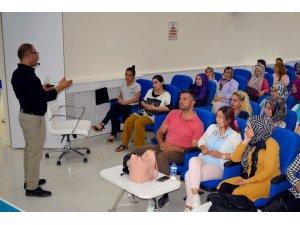 İpekyolu Belediyesi'nde iş sağlığı ve güvenliği eğitimi