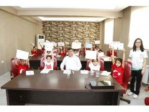 Başkan Fadıloğlu, öğrencilerle derse katıldı