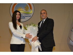 Fakıbaba, bakanlık çalışanlarıyla vedalaştı