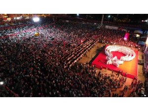 Kocaeli'de 15 Temmuz nöbetleri için dev tören