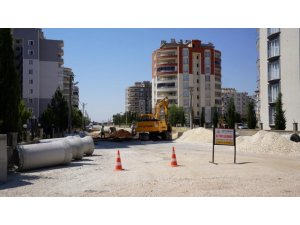 Yeni Mahallede altyapı çalışması devam ediyor