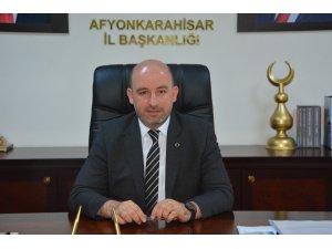 AK Parti Afyonkarahisar İl Başkanı Av. Hüseyin Sezen: