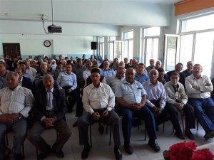 Hacı adaylarına yönelik bilgilendirme semineri yapıldı