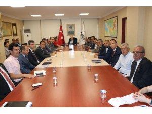 Düzce'de 15 Temmuz toplantısı yapıldı