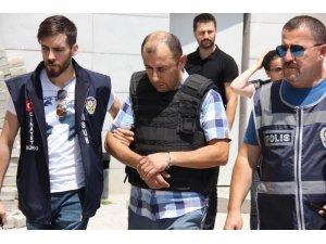 Samsun'da park kavgasında ölüme sebep olan polis adliyeye sevk edildi