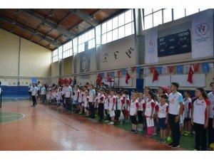 Gediz'de Yaz Spor Okulu 682 öğrenci ile başladı