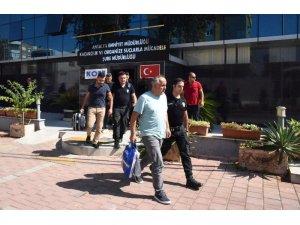 Antalya'da FETÖ şüphelileri adliyeye sevk edildi