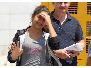 Hırsızlık suçundan 5 yıl cezası bulunan genç kadın yakalandı