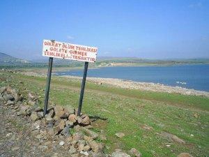 """Kilis'te gölet ve barajlara """"tehlikeli"""" uyarısı"""