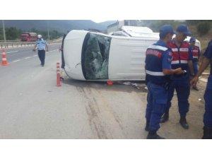Bilecik'te trafik kazası : 1 yaralı