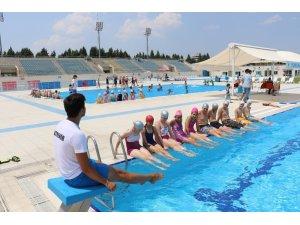 Yüzme kurslarında ikinci dönem başladı
