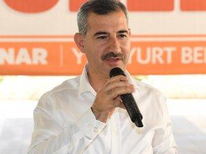 Başkan Çınar muhtara 'imar barışı'nı anlattı
