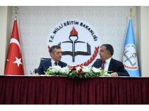 Milli Eğitim Bakanı Ziya Selçuk görevini devraldı