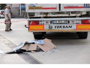 Yalova'da tırın altında kalan kadın öldü