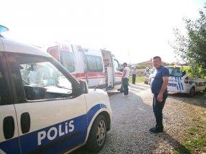 'Dur' ihtarına uymayan otomobil, kovalamaca sonucu yakalandı