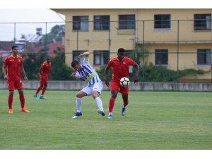 Evkur Yeni Malatyaspor ikinci hazırlık maçını da kazandı