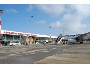 Adıyaman Havalimanında yolcu sayısı arttı