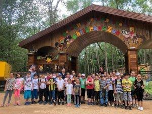 Bilgievi öğrencilerinin yaz tatili dolu dolu