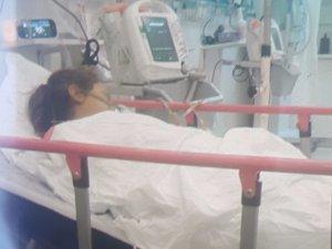 Karaciğer yetmezliği çeken Suriyeli küçük kız hastane yolunda öldü