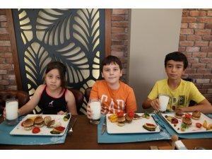 Maide Restoran'dan ''Sağlıklı Çocuk Menüsü''