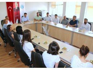 Yusuf Şerefoğlu Sağlık Bilimleri Fakültesinde devir teslim yapıldı
