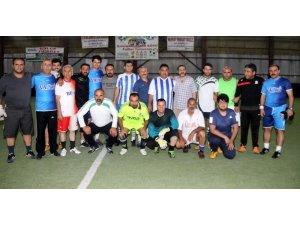 Basınspor ile VASKİ arasında dostluk maçı