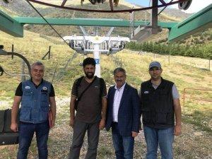 Çığ düşmesine karşı özel proje ekibi Bozdağ'da
