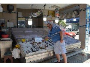 Sıcaklar arttı, balığa ilgi azaldı