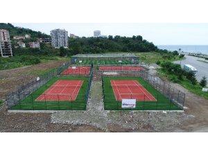 Görele Belediyesi'nden spor tesisleri