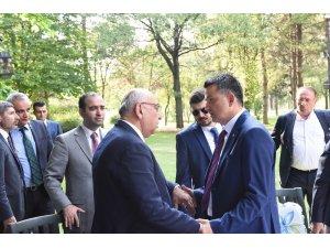 Yediyıldız, Tarım Bakanı Pakdemirli ile 'fındığı' konuştu