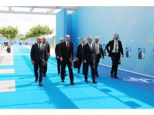Erdoğan, Türkiye'nin NATO Daimi Temsilciliğinin açılışını yaptı