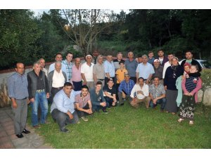 AK Parti Yenice  teşkilatı haftalık  toplantısını Çeltik köyünde yaptı