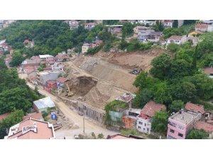 Mollaarap'ta zemin güçlendirme çalışmaları sürüyor
