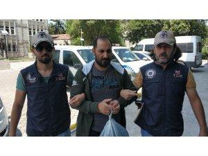 Samsun'da DEAŞ'tan gözaltına alınan 3 Iraklı adliyede