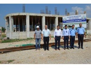 Matay Spor Tesisleri inşaatı tam gaz