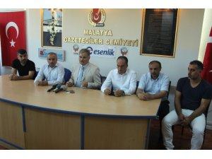 Milletvekili Çakır, Malatya Gazeteciler Cemiyetini ziyaret etti