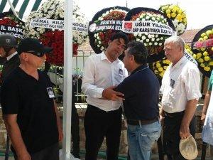 Başkan Demirağ'ın babası toprağa verildi