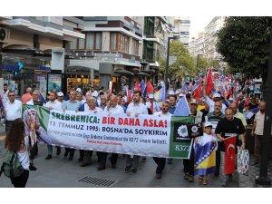 Samsunlular Srebrenitsa katliamının kurbanlarını andı