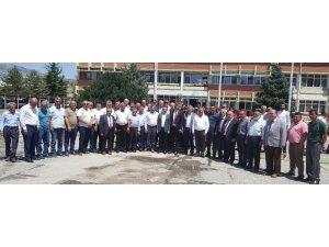 Boğazlıyan'dan 4 parti ve STK Temsilcilerinden  Turhal Şeker'e toplu ziyaret