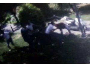 Esenler'de 4 kişi bir kişiyi darp etti, darp edilen şahıs silahını ateşledi