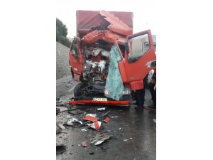 TEM'de korkutan kaza: 1 yaralı
