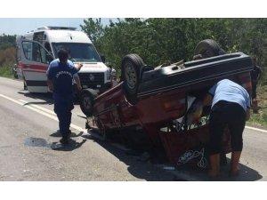Edirne'de trafik kazası: 8 yaralı