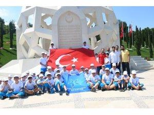 Küçükçekmeceli öğrencilerden 15 Temmuz Şehitler Anıtı'na ziyaret