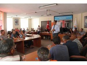 Dörtyol'da belediye personeline iş güvenliği eğitimi