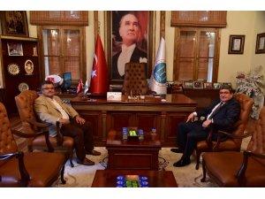 Milletvekili Yağcı'dan Başkan Can'a ziyaret