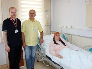 Gazi Devlet Hastanesi'nde ilk kez yapıldı