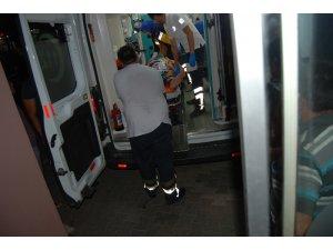 Bayramiç'te orman şefi kazada yaralandı