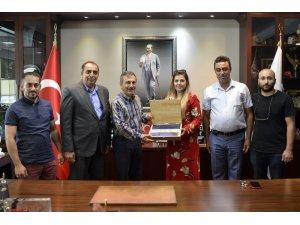 Tozmanlılardan Başkan Ataç'a ziyaret